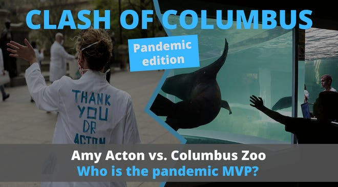 The final of the Clash of Columbus bracket asks who has done more to get central Ohioans through the pandemic so far: Dr. Amy Acton or the Columbus Zoo and Aquarium.