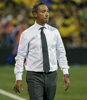 Crew coach Caleb Porter knows expectations are high after winning the MLS title.