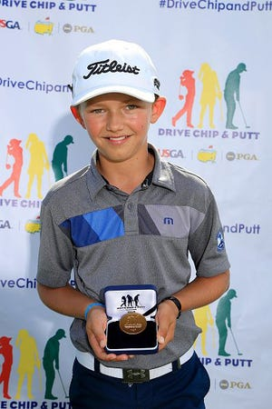 Miles Russell of Jacksonville Beach finished seventh in the boys 10-11 age group in the Drive, Chip and Putt National Finals on Sunday at the Augusta National Golf Club.