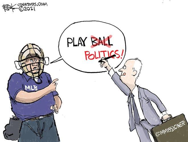Today's editorial cartoon (April 5, 2021)