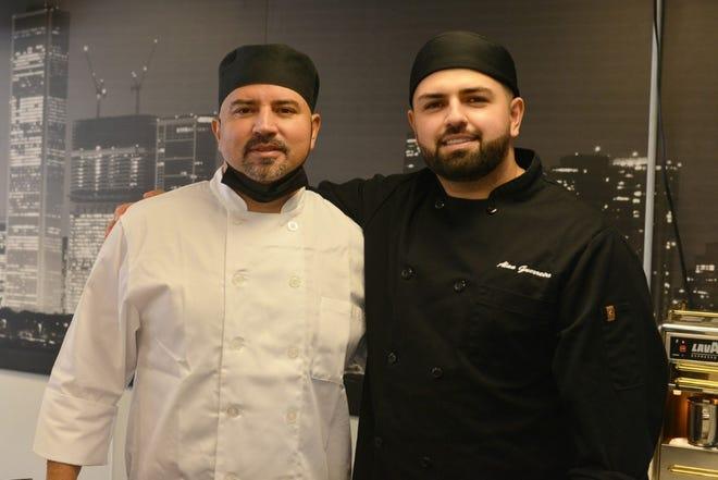 Francisco Oliveira, left, and Alan Oliveira.