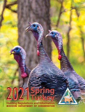 Get more information on spring turkey hunting in Missouri through MDC's free booklet, available at MDC regional offices and nature centers, other places where permits are sold, and online at huntfish.mdc.mo.gov/spring-turkey-hunting-regulations-and-information.