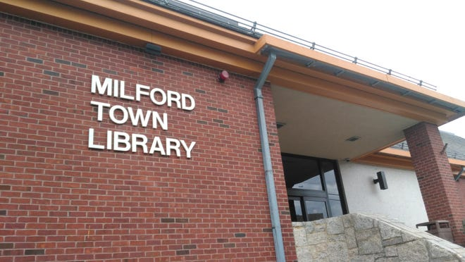 The Milford Town Library is celebrating national Poetry Month with a community of poems.