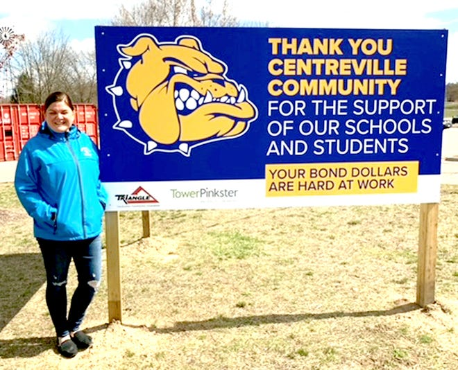 Stephanie Lemmer, superintendent at Centreville Public Schools, said a major construction project at both of the district's buildings this summer will complete the final phase of work from a 2013 millage request.