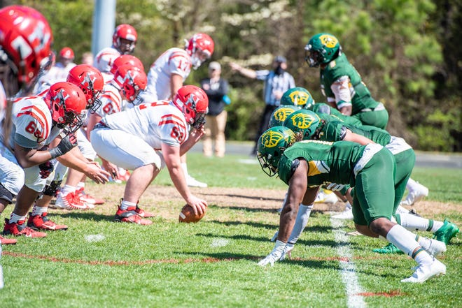 The Methodist University football team is excited for the future after its first winning season since 2014.