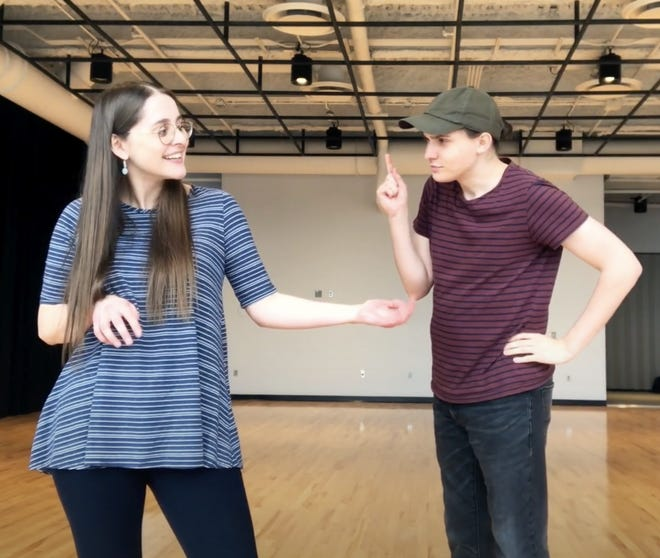 Pantomime Pass is one of the virtual classes offered by Two River Theater for Autism Awareness Month.