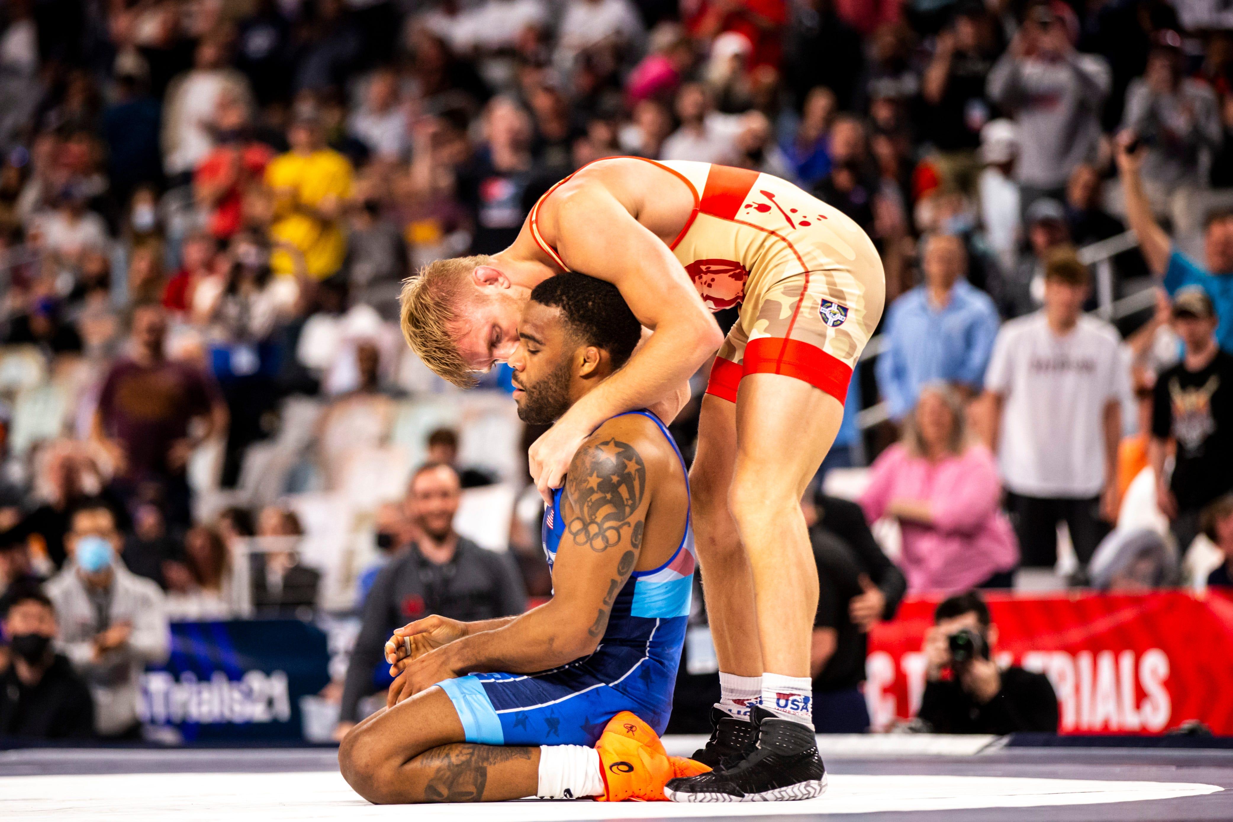 Kyle Dake denies NJ wrestling legend Jordan Burroughs 3rd Olympic ...