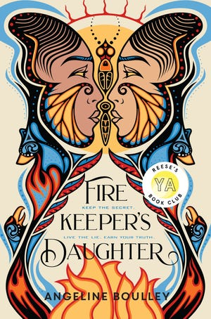 Young Adult thriller: 'Firekeeper's Daughter' by Angeline Boulley. Art cover by Ojibway artist Moses Lunham.
