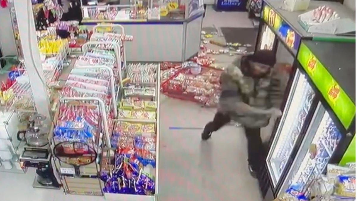 Police: Man with pole trashes Asian-owned convenience store 3
