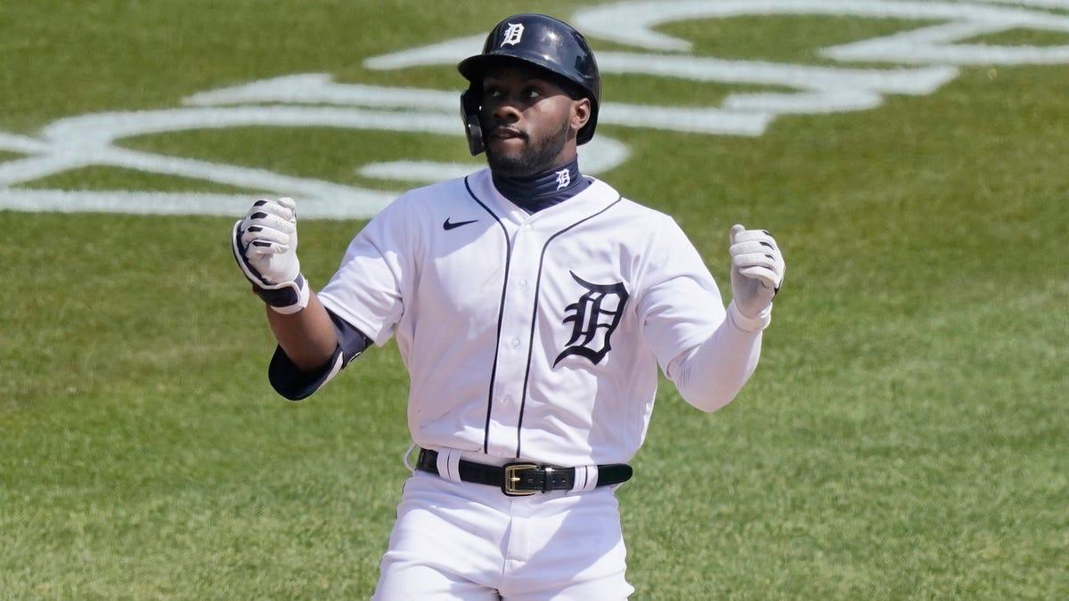 Niyo: Tigers' rookie Akil Baddoo has a blast in his big-league debut 1