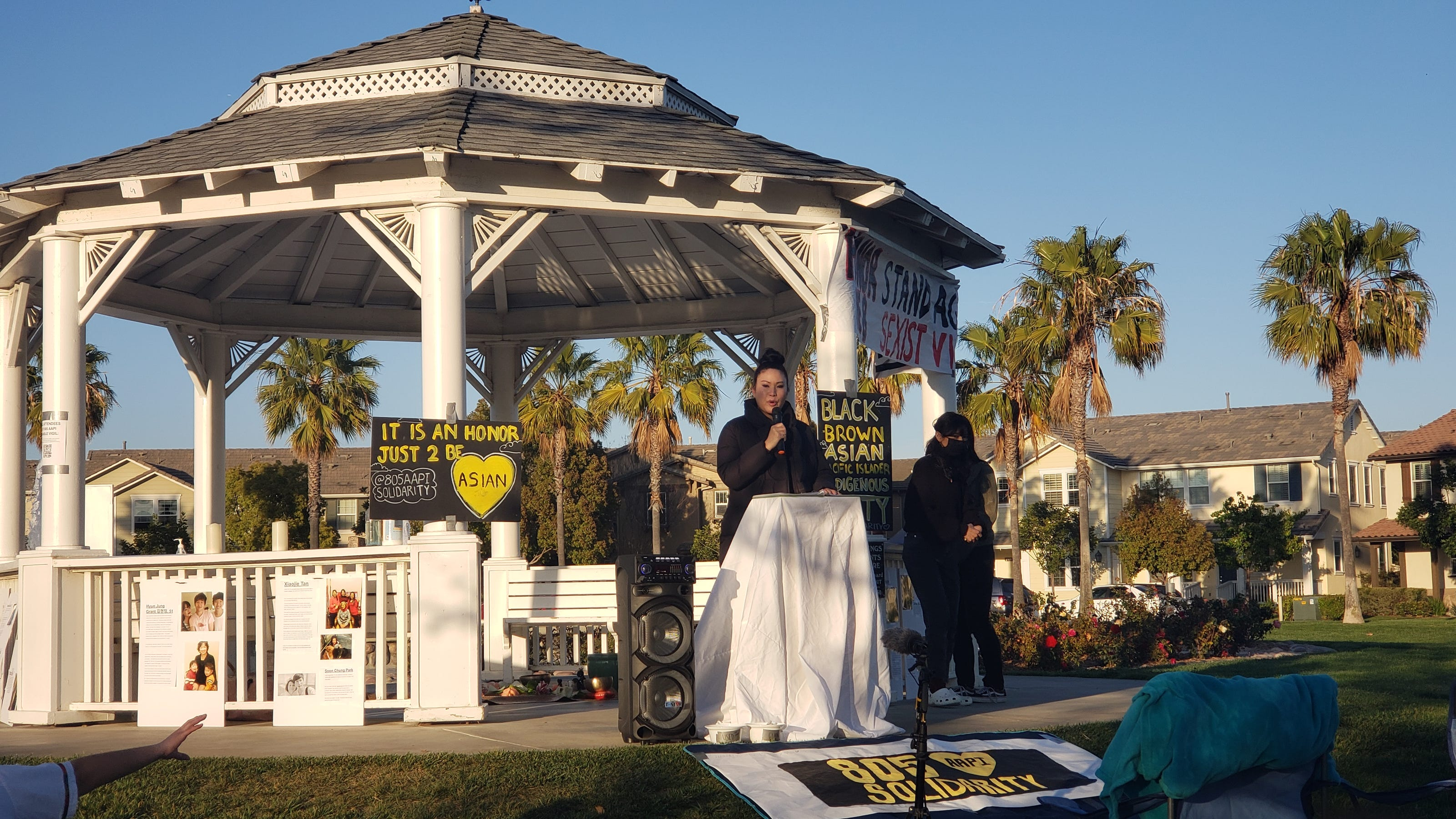 www.vcstar.com: Candlelight vigil held to honor victims of Asian American hate crimes