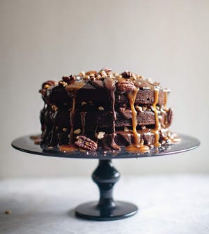 """This turtle cake is from Zoë François' new book, """"Zoë Bakes Cakes."""""""