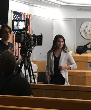 Laura Andrade will represent Timothy Barnum this week in the murder trial taking place in the 15th state District Court.