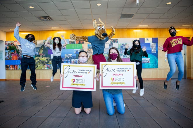 Austin College celebrated its Giving Day on March 30 at the Sherman college.