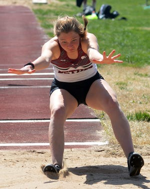 Bethel College athlete Stephany Meyer placed fifth in the triple jump Saturday at the Loren Ruesser Invitational.
