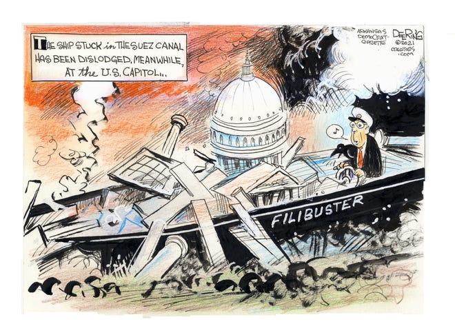 Today's editorial cartoon (April 6, 2021)