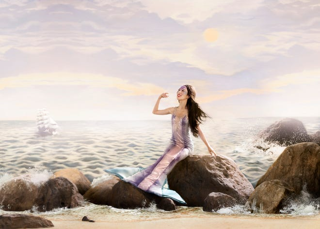 """Oklahoma City Ballet Principal Dancer DaYoung Jung appears as the title character in """"The Little Mermaid."""""""
