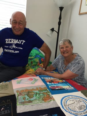 Jim and Roberta Cullen have been on dozen of cruises all over the world and are eager to get back out to sea.