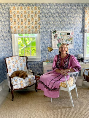 Interior designer Mally Skok, seen in her Palm Beach home, is among the design professionals taking part in the Kips Bay Decorator Show House Palm Beach, which opens to the public Thursday on the Flagler Drive waterfront in West Palm Beach.