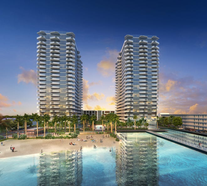 Groundbreaking takes place this week for Icon Marina Village, on North Flagler Drive.