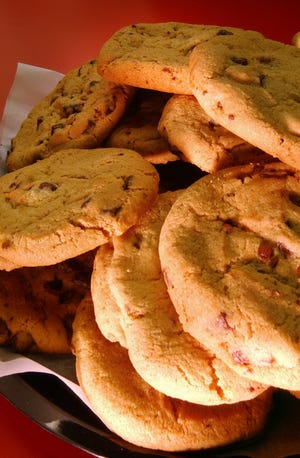 Jaswell Farms signature chocolate chip cookies. They can be special  ordered online for curbside pickup.