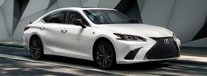 The 2021 Lexus ES 250 AWD F Sport comes standard with all-wheel drive, hence the AWD moniker. Its 2.5-liter four-cylinder engine makes 203 horsepower with 184 pound-feet of torque.