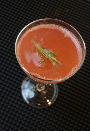 Rhodium Spirits, who made this Cosmopolitans, will be pairing with the Providence G for a cocktail dinner.