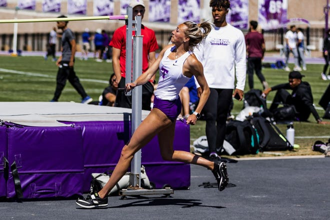 """Tarleton State junior Gentrye Munden won the high jump on Saturday at the UTA Invitational, the first-ever individual first-place finish in the Division I era for Tarleton track and field. Munden, from Cleburne, cleared 5' 6"""" to seal the victory."""