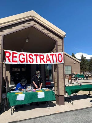 The Siskiyou Humane Society held a free microchipping event for pets in March at the Summit Church in Mount Shasta.