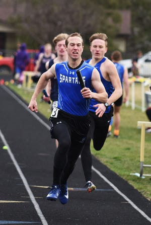 A.J. Smith helped Collins-Maxwell's sprint medley and 4 X 100-meter relay teams place fourth and he also won bronze medals in the 200 and 400 individually in Class B at the Cub Relays March 30 in Nevada.