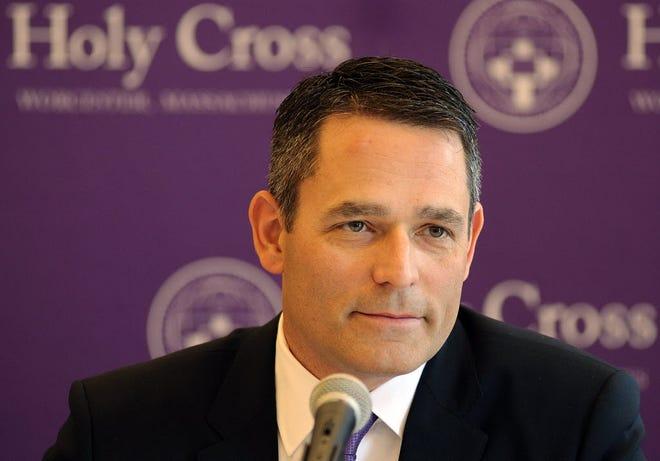 David Berard resigned after seven seasons as Holy Cross men's hockey coach.