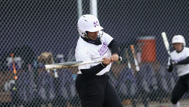 Mount Union senior third base player Maggie Dominick has been named OAC Hitter of the Week for the week of April 5