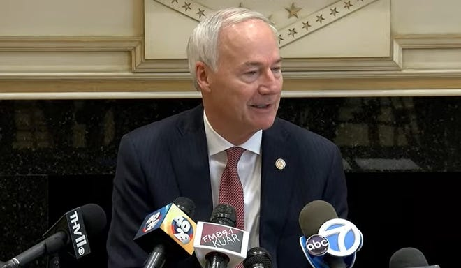 Arkansas Gov. Asa Hutchinson recently vetoed legislation that would prohibit local police from enforcing federal gun laws, saying the measure would jeopardize law enforcement and the public.