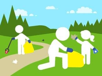 Topsfield's Earth Day Cleanup is happening throughout the month of April.