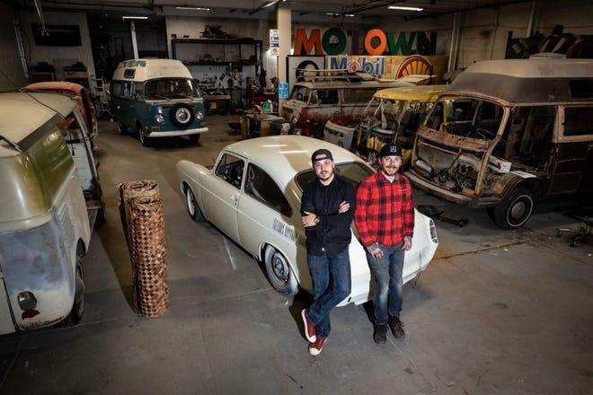 Brandon Forsyth, left, and  Tyler Lussier of Image Custom Designs