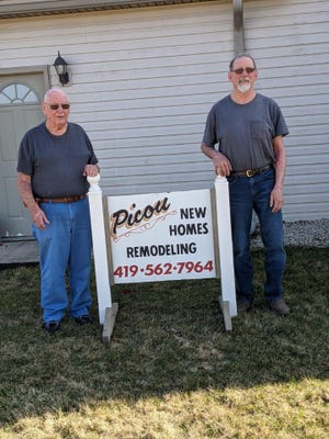 Jack and Jamie Picou, from left, are proud of the business they've built, which has impacted thousands of homes in northern Ohio since the 1970s.