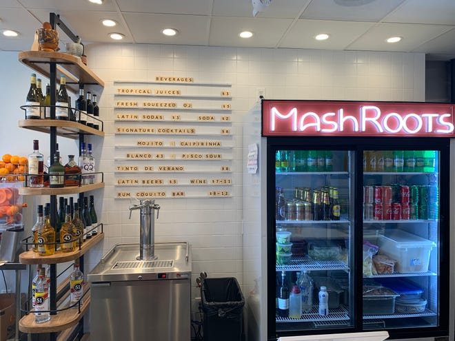 Inside MashRoots Mofong Bar, in College Hill