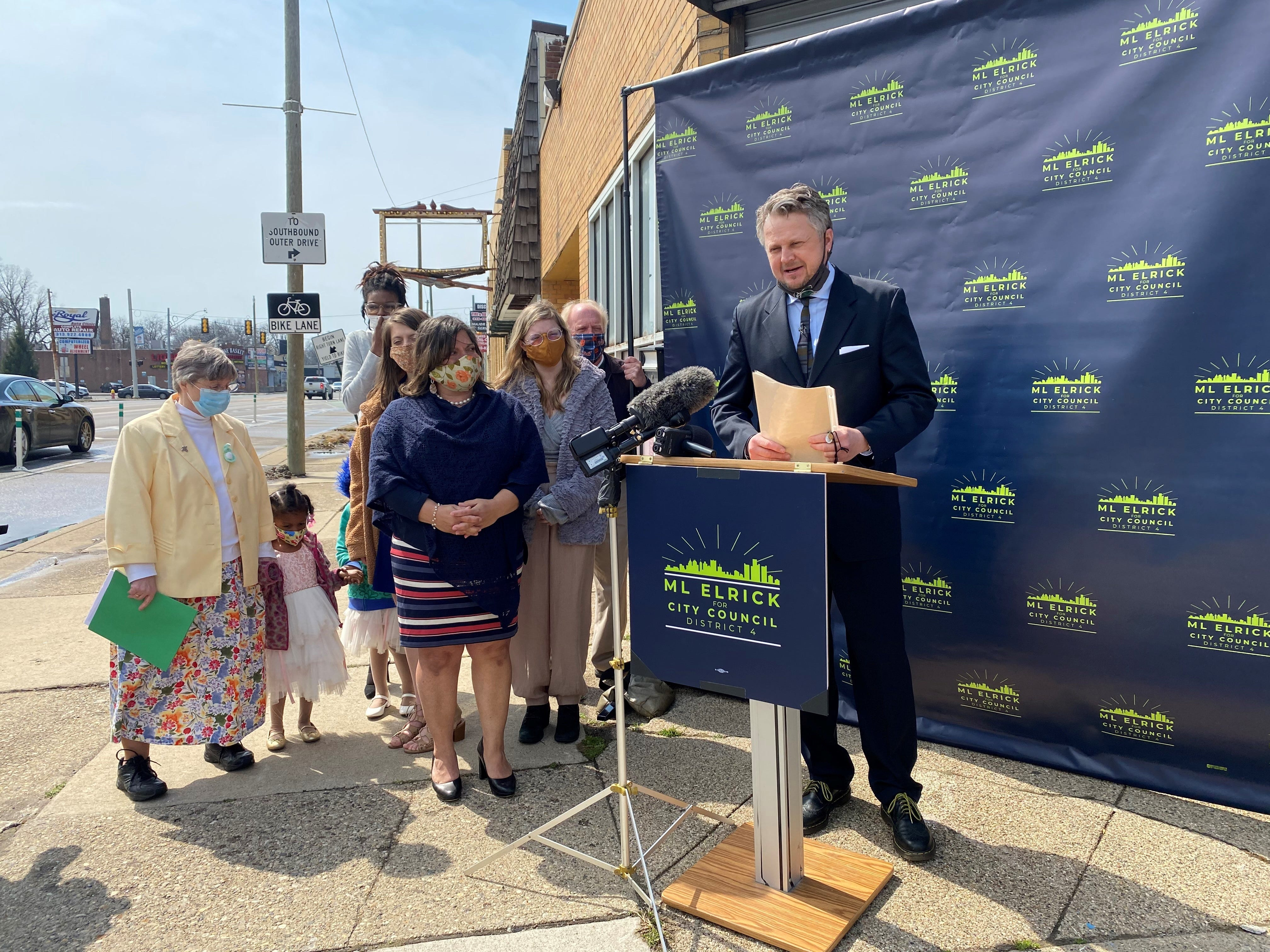 Detroit City Council candidate calls for ethics overhaul