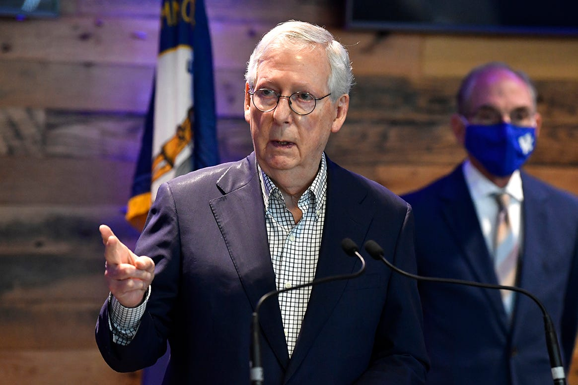 After new law, McConnell warns CEOs: 'Stay out of politics' 1