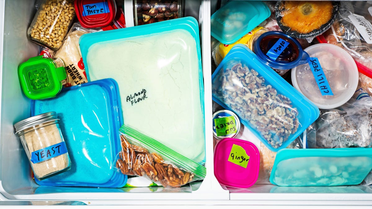 7 foods you should be storing in the freezer, including yeast, nuts and peppers 1