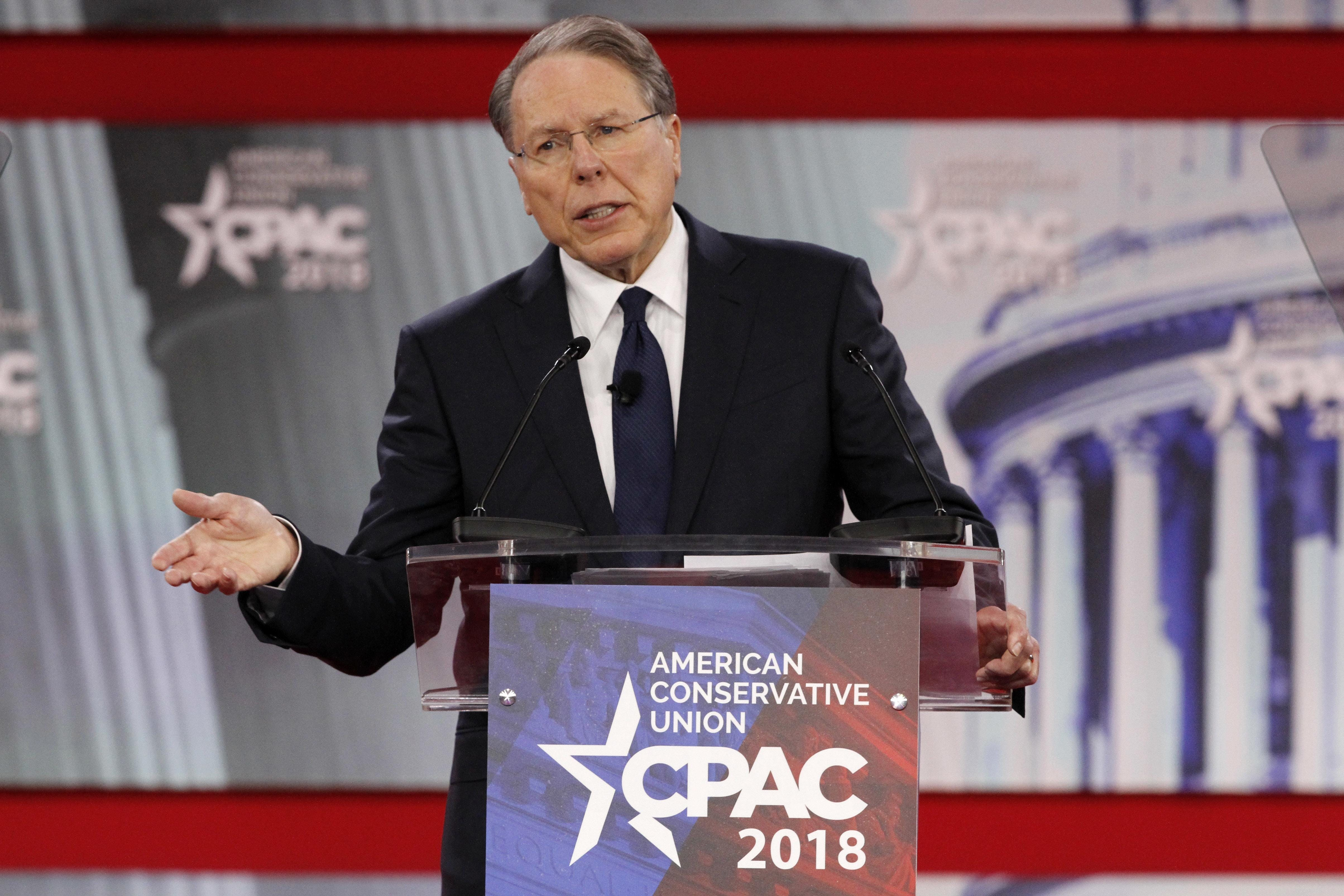 NRA leader sought refuge aboard yacht after public outrage over school shootings 1