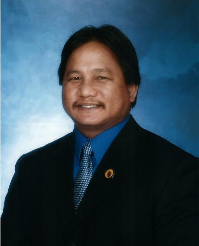 Former Umatac Mayor Daniel Sanchez