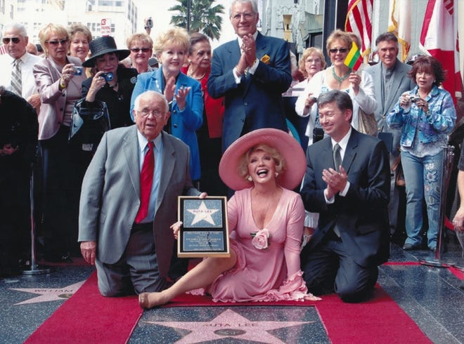 Ruta Lee received a star on the Hollywood Walk of Fame in 2006 for her contributions to the television industry.