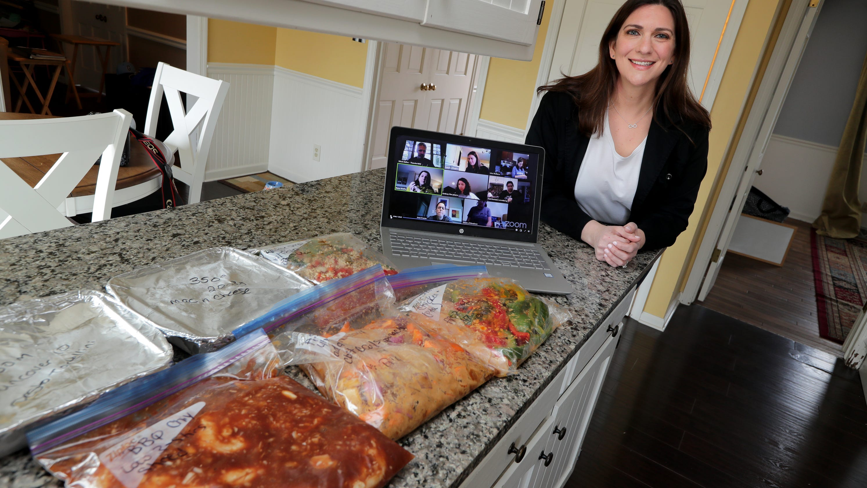 Zoom to table: Busy parents get cooking with virtual meal prep sessions