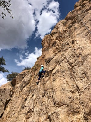 Tombstone Adventure Company offers 25 guided climbs for all skill levels in Arizona's Dragoon Mountains.