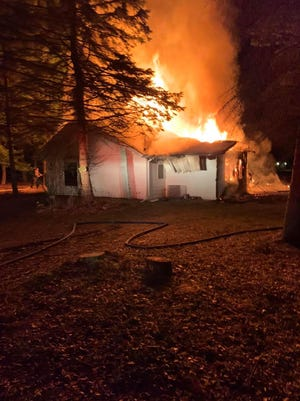 The Port Sanilac Fire Department responded to a report of a house fire in the 5000 block of East Deckerville Road at about 1:30 a.m. Monday.