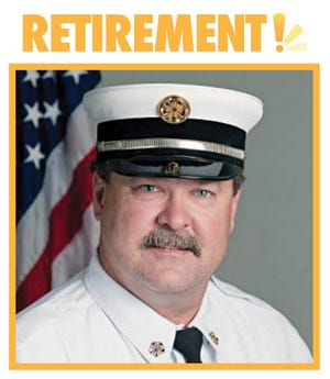Darrell Hartmann retired as Fire Chief of Brookings on Monday.