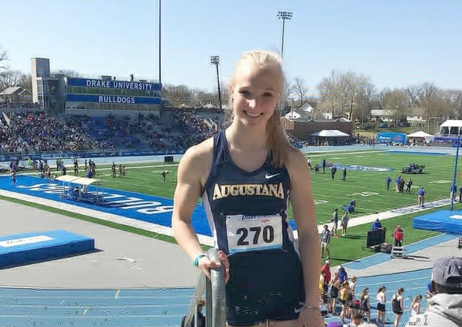 Brandon native Callie DeWitt competed in the Open 100 at the Drake Relays in 2018 and 2019. She'd like another shot at it later this month.