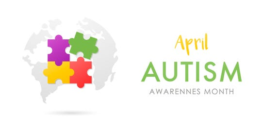 April is World Autism Awareness Month