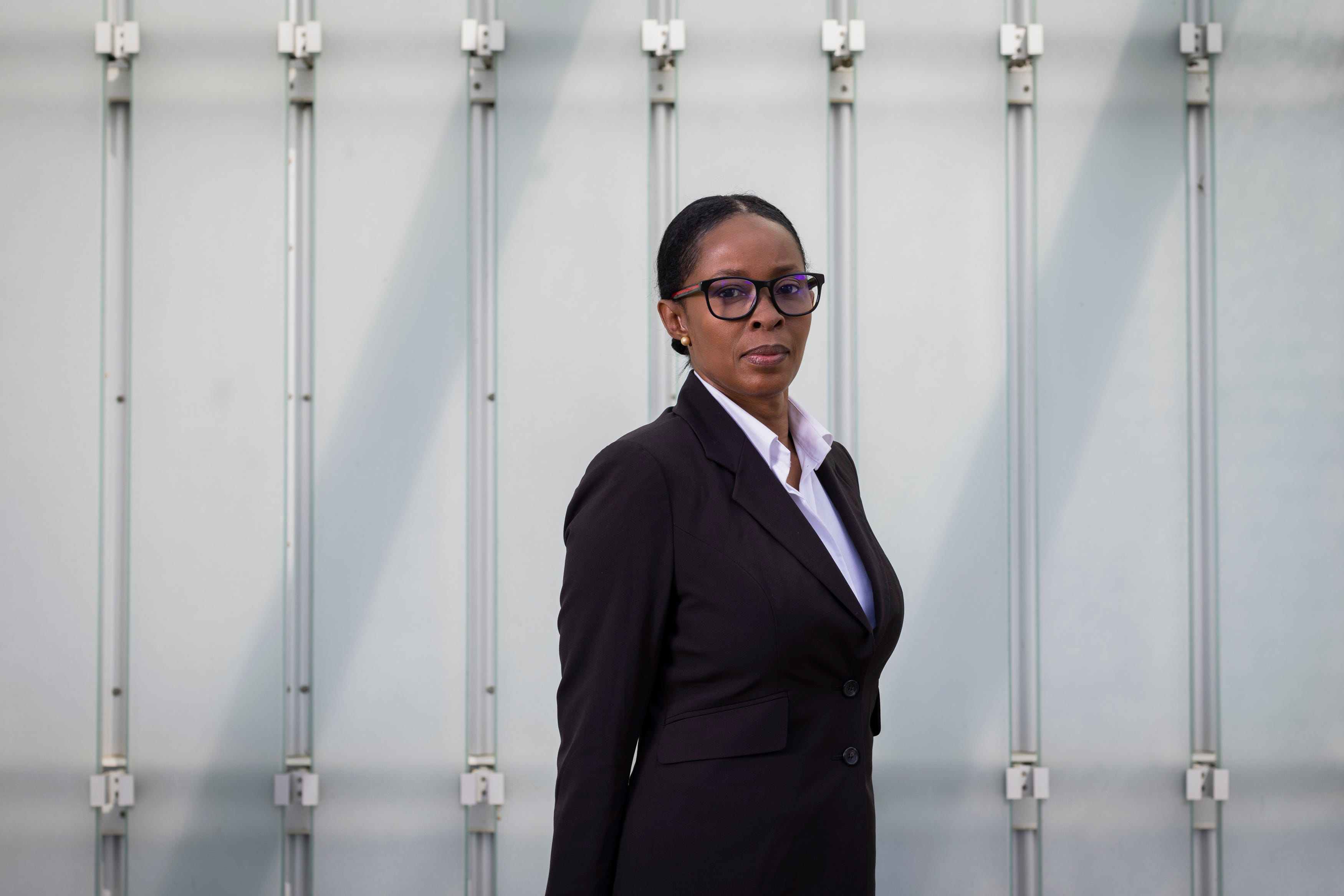 Sharon Lewis, photographed in downtown Baton Rouge on April 4, 2021, says LSU Executive Deputy Athletic Director Verge Ausberry tried to sabotage her leadership of LSU's alumni association.